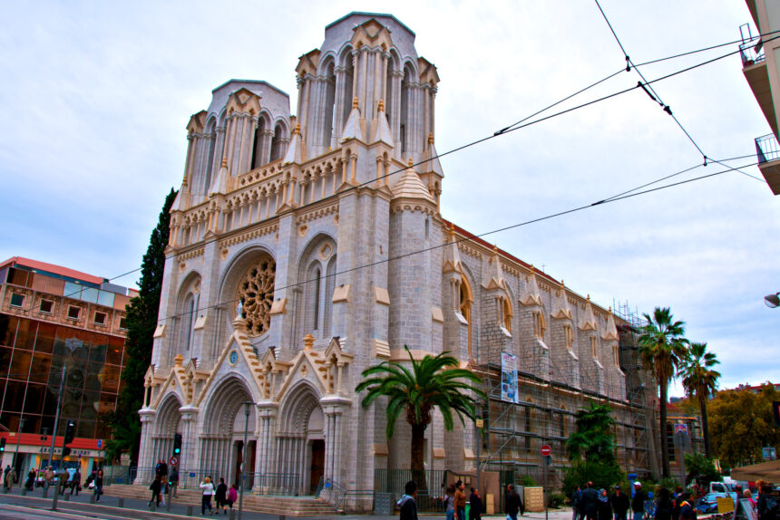 собор Нотр-Дам, Ницца, католический храм