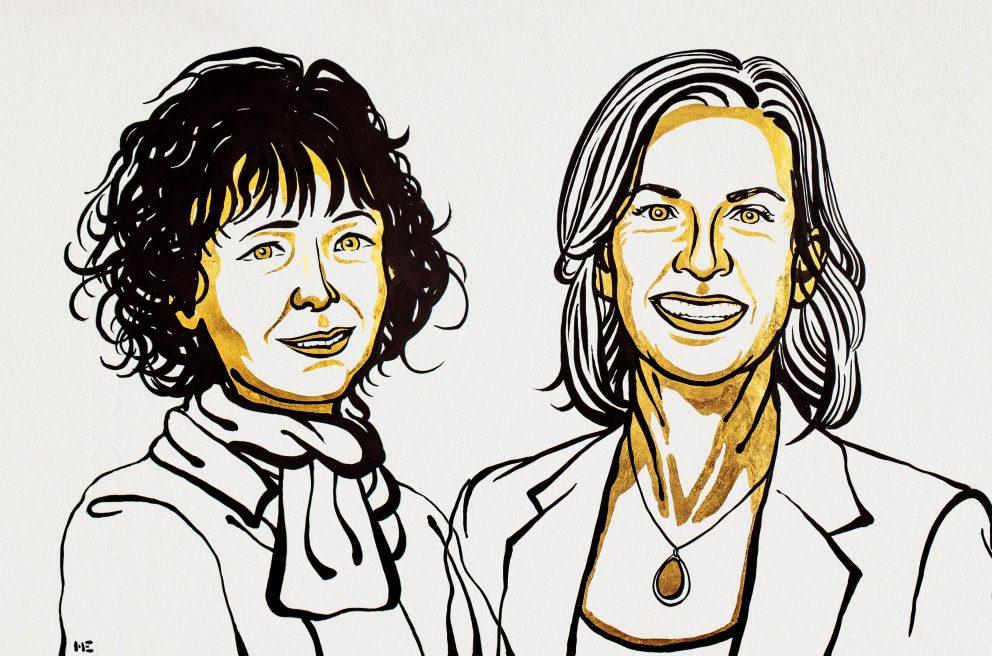 Эммануэль Шарпантье и Дженнифер Дудна, нобелевские лауреаты по химии 2020