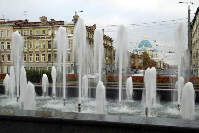 фонтан Адмиралтейский, Лермонтовский проспект