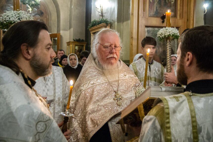 протоиерей Димитрий Смирнов, священник, богослужение, рождество