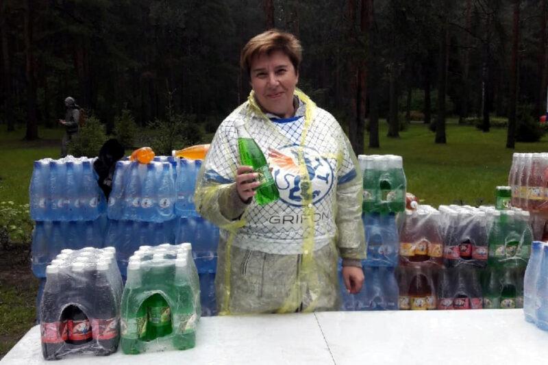 Елена Сергеева серебряные волонтёры