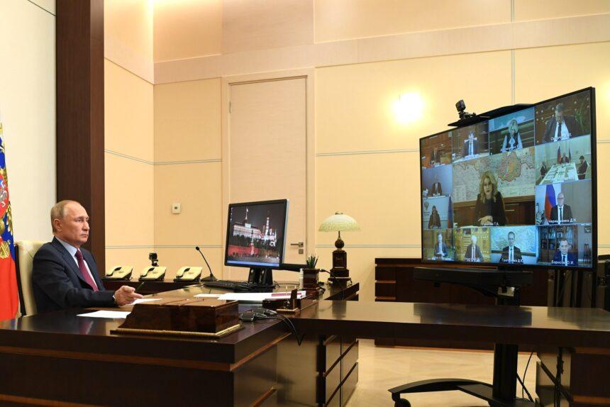 совещание с вице-премьерами, президент Владимир Путин