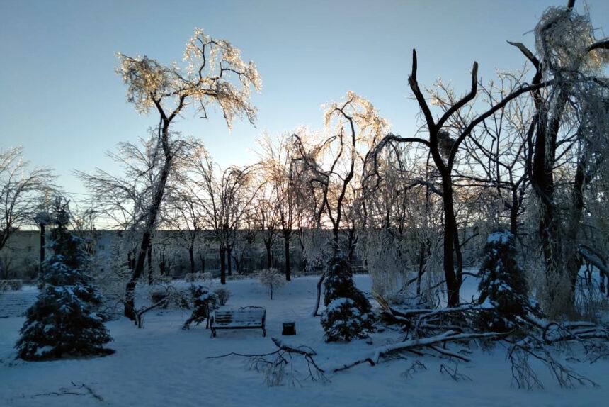ледяной дождь, Владивосток