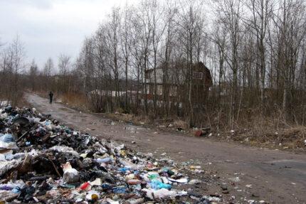 мусор, отходы, несанкционированные свалки, Ленинградская область