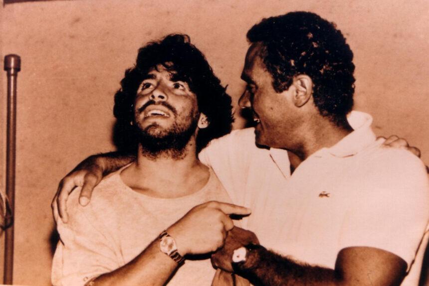 Диего Марадона и Джанни ди Марцио
