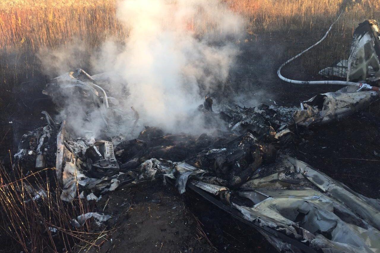 крушение частного самолёта с журналистом НТВ Александром Колтовым