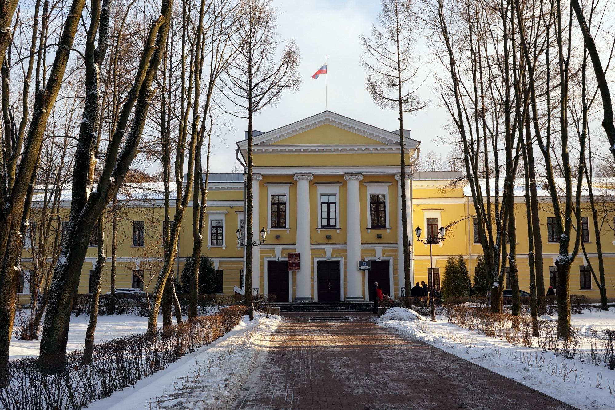 Гатчина, улица Киргетова 1, историческое здание, администрация города