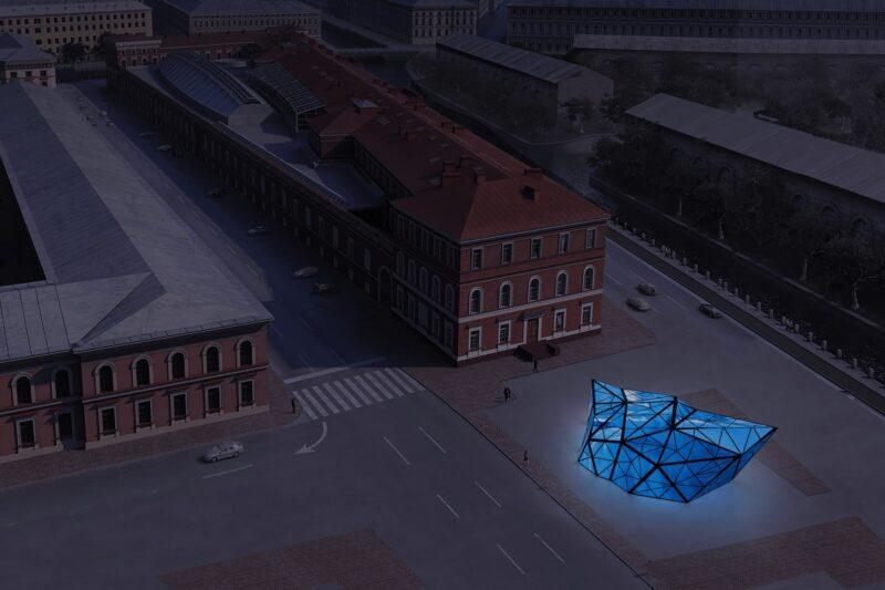 проект ArtAntarctica в ЦВЗ Манеж