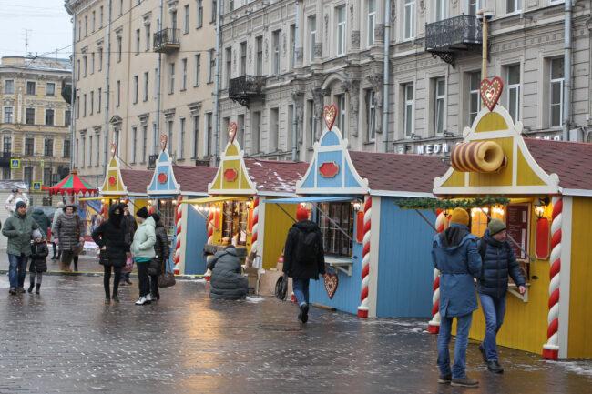 рождественская ярмарка, новый год, новогодние праздники, торговля