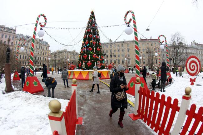 рождественская ярмарка, новый год, новогодние праздники, ёлка, новогодняя ель