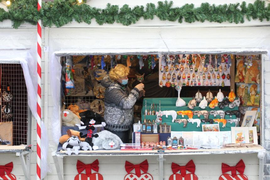рождественская ярмарка, новый год, новогодние праздники, украшения