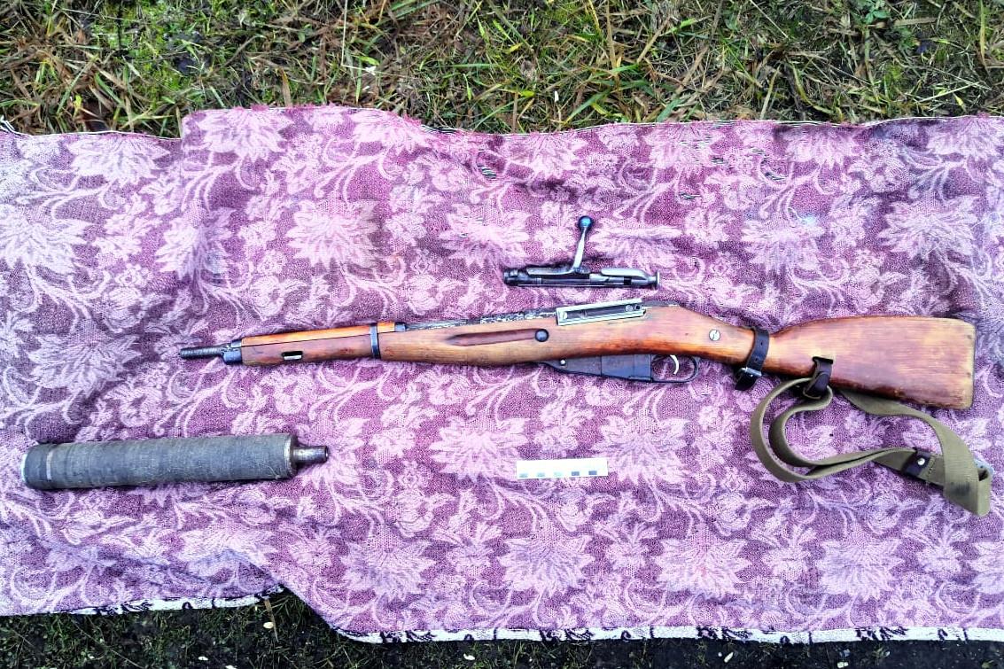 винтовка Мосина, глушитель, оружие