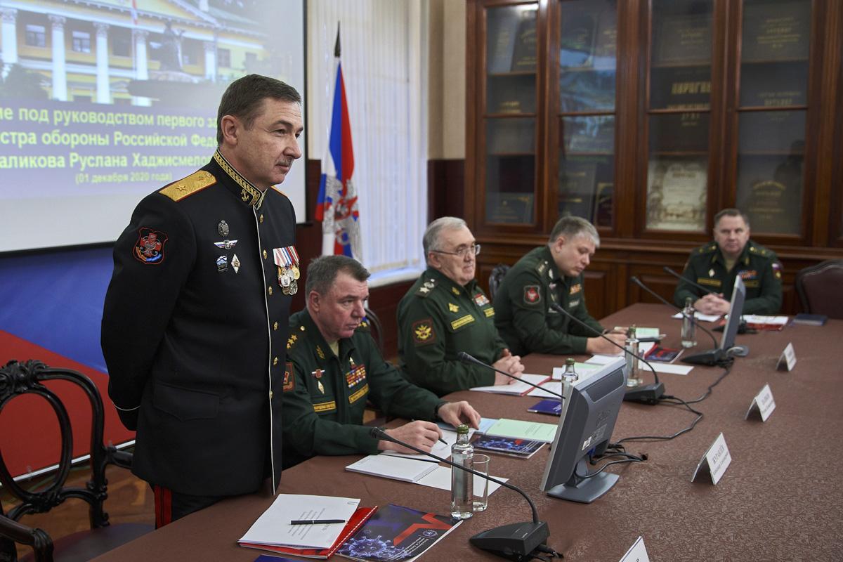 Евгений Крюков, начальник Военно-медицинской академии имени С. М. Кирова