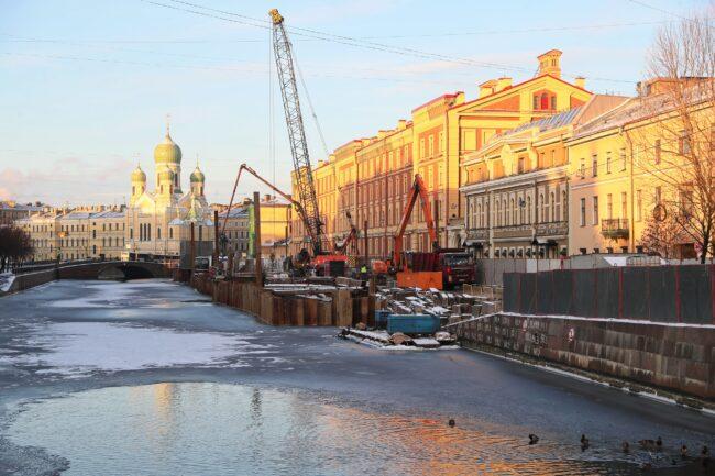 набережная канала Грибоедова ремонт