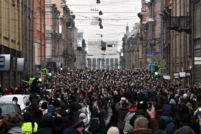протестная акция 31 января