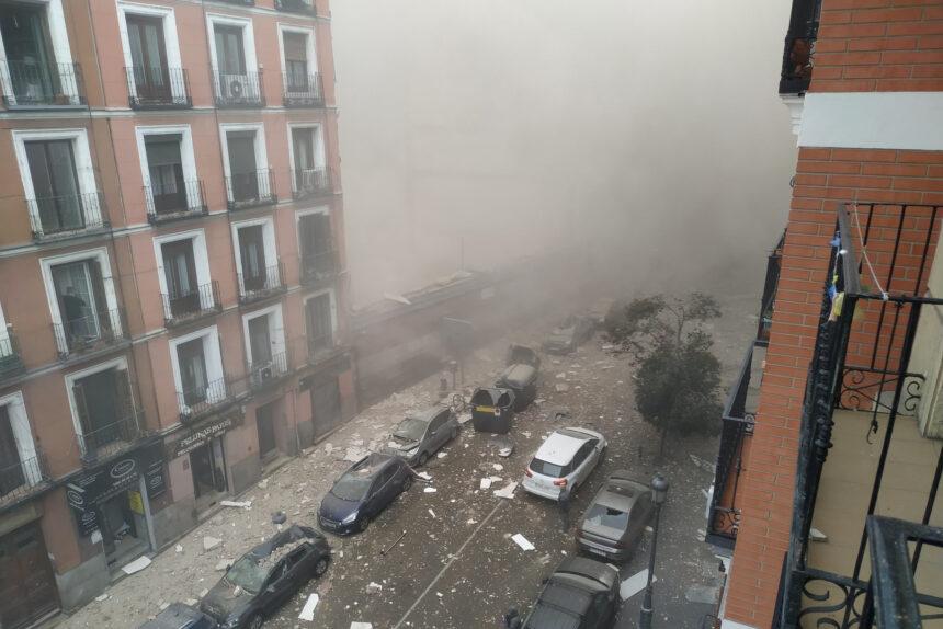 взрыв, Мадрид