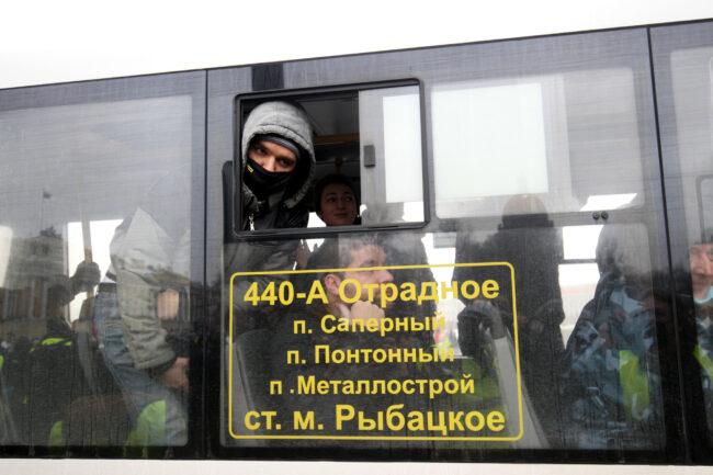 протест, акции в поддержку Навального, митинг, задержанные