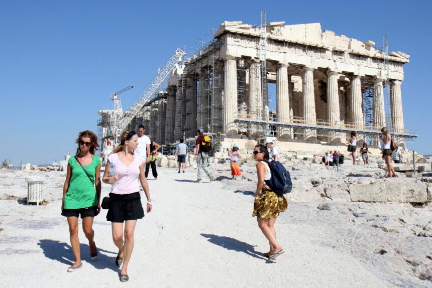Греция, Афины, Акрополь, туризм, туристы