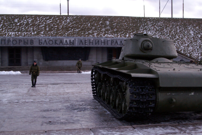 танк, военная техника, музей Прорыв блокады Ленинграда