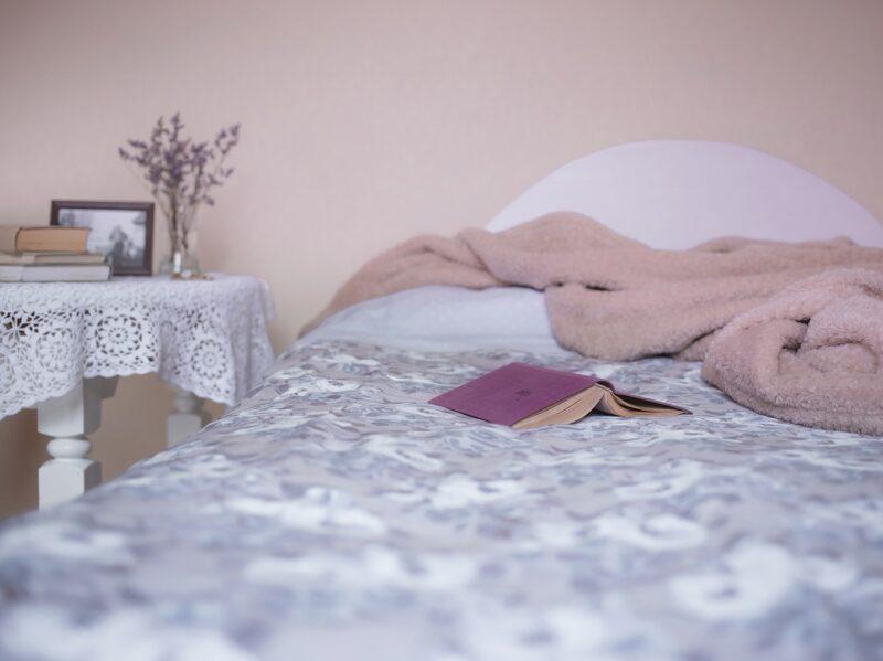 сон постель кровать книга спать
