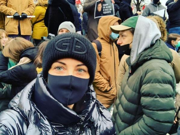 Юлия Навальная митинги 2021