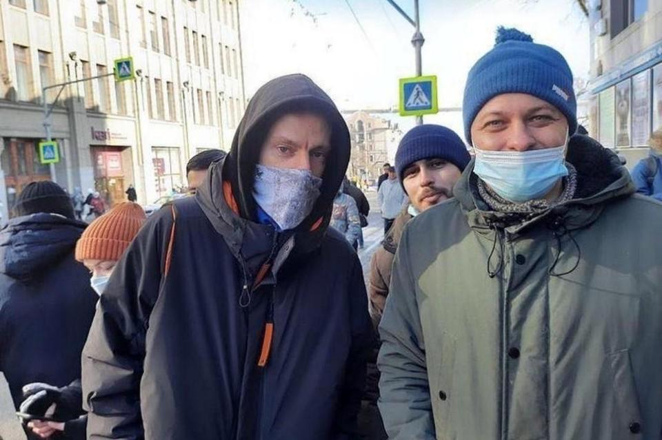 Дудь митинги за Навального 2021