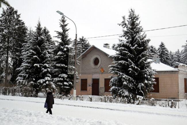 посёлок Хвойный, здание офицерской столовой