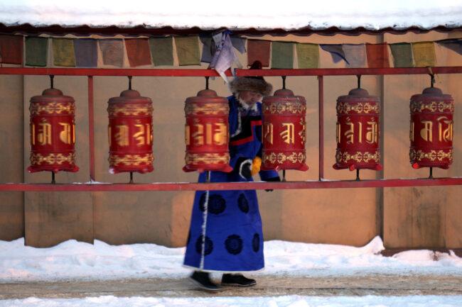 дацан Гунзэчойнэй, буддизм, ритуальные барабаны хурдэ