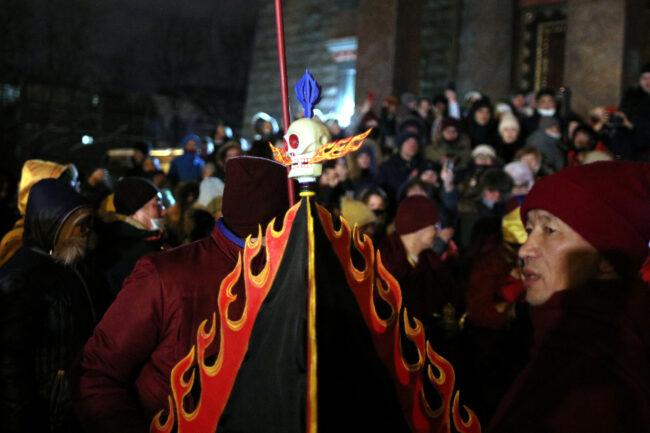 дацан Гунзэчойнэй, буддизм, новый год по восточному календарю, Сагаалган, соор