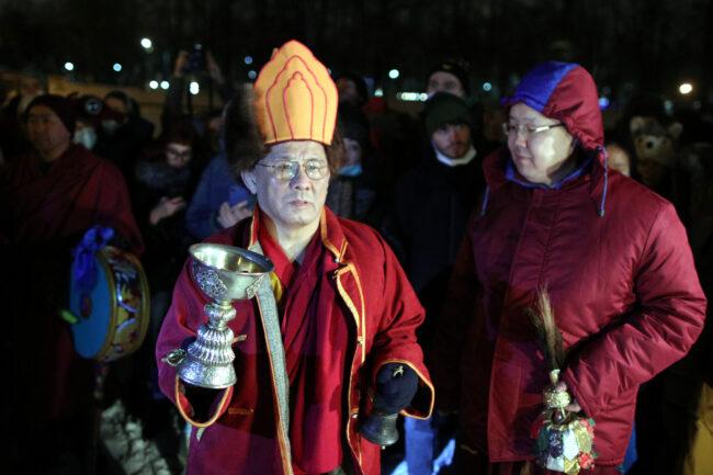 дацан Гунзэчойнэй, буддизм, новый год по восточному календарю, Сагаалган, Буда Бадмаев