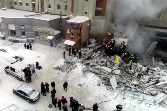 взрыв в кафе, Нижний Новгород, разрушенное здание