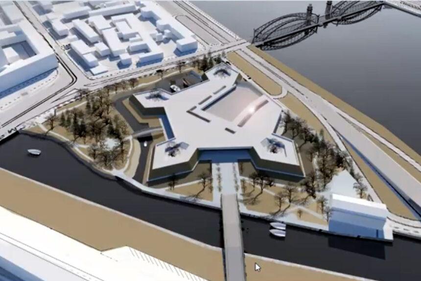 Архитекторы представили концепцию археологического заповедника на Охте