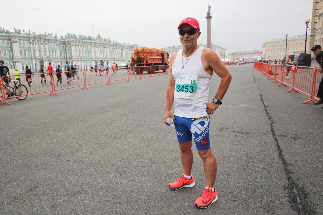 Андрей Чепакин, марафон Белые Ночи