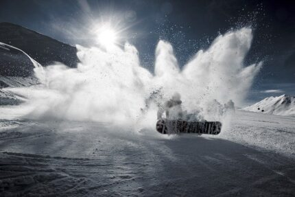 сноуборд снег гора