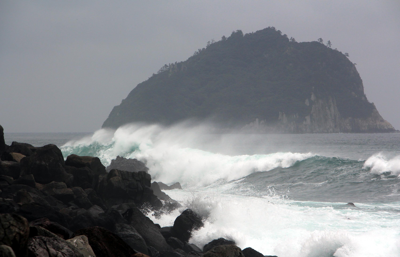 шторм, море, ветер, волны
