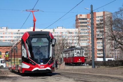 трамвай Витязь-Ленинград