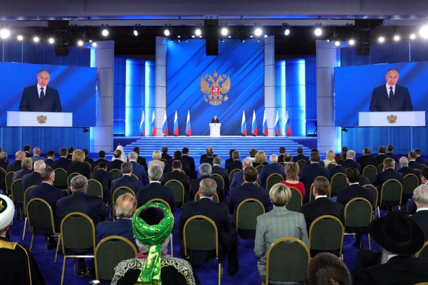 послание президента Федеральному собранию, Владимир Путин