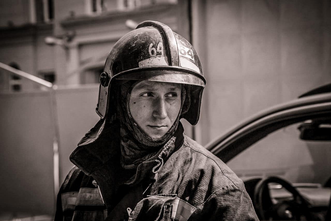 Илья Белецкий, пожарный, пожар в Невской мануфактуре