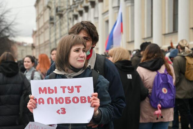 акция протеста, политический протест, сторонники Навального, митинг, любовь
