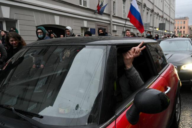 акция протеста, политический протест, сторонники Навального, митинг