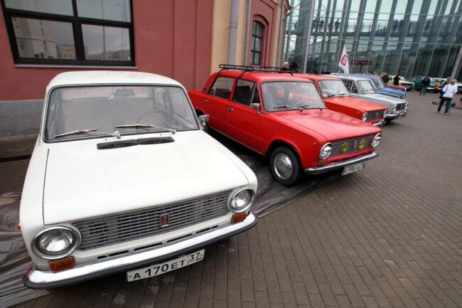 ретротранспорт, ретроавтомобили, Жигули, ВАЗ