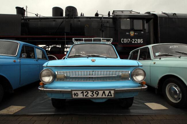ретротранспорт, ретроавтомобили, Запорожец, ЗАЗ