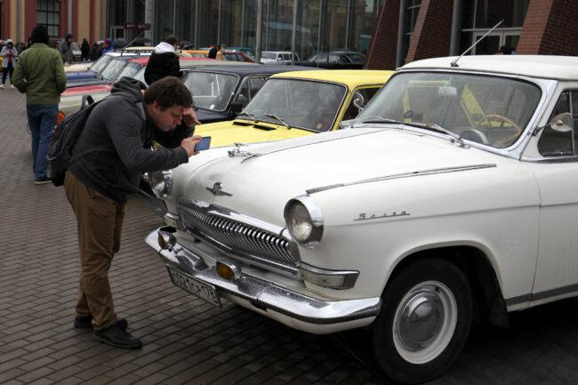 ретротранспорт, ретроавтомобили, Волга, ГАЗ