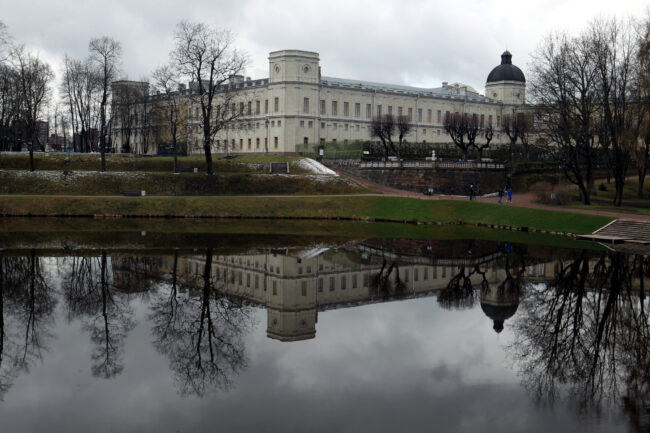 ГМЗ Гатчина, Гатчинский парк, Гатчинский дворец, Карпин пруд