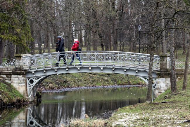 ГМЗ Гатчина, Гатчинский парк, мостик, Водный лабиринт