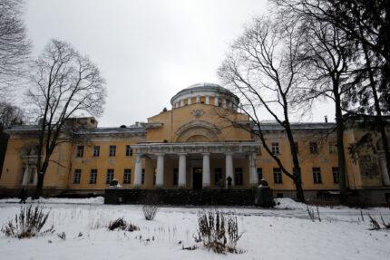 Шуваловский парк, усадьба графов Шуваловых, Большой дворец