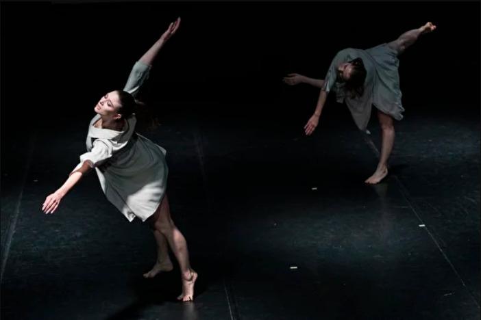 Театр танца Саши Кукина, спектакль 'Разговор с Мерсом', фестиваль 'Пятилетка', современный танец