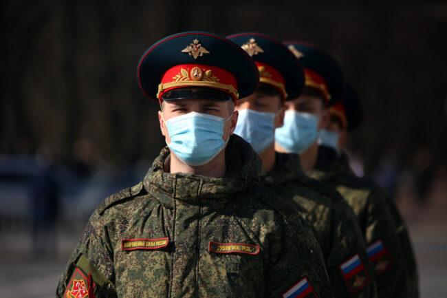 репетиция парада Победы, 9 мая, военные, военнослужащие, солдаты, Дворцовая площадь