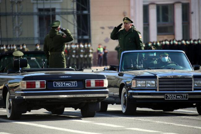 репетиция парада Победы, 9 мая, военные, военнослужащие, офицеры, Дворцовая площадь