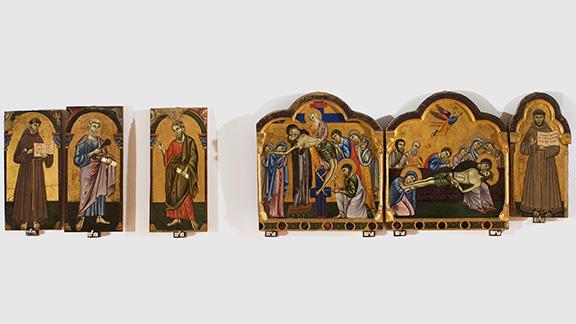 выставка, Эрмитаж, искусство средневековья, Шедевры из Национальной галереи Умбрии